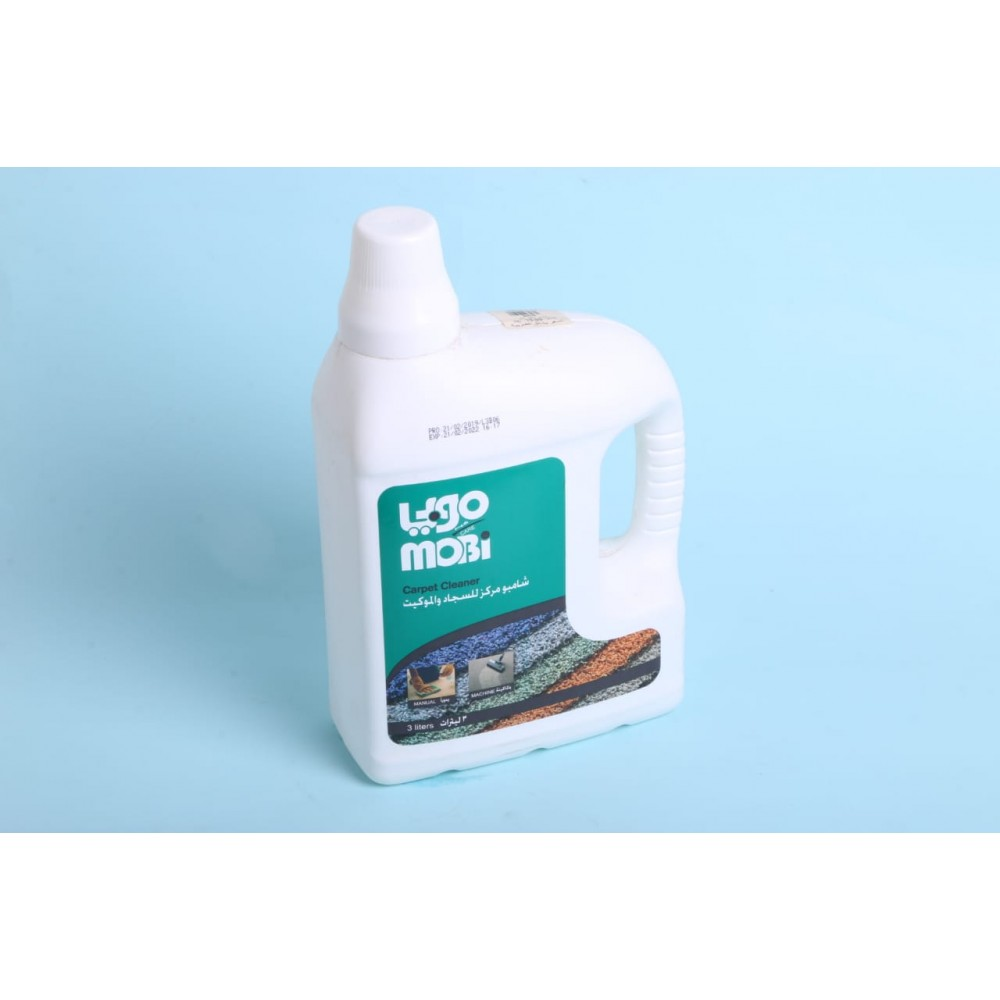 Mobi shampoo and carpet concentrate 3 liters