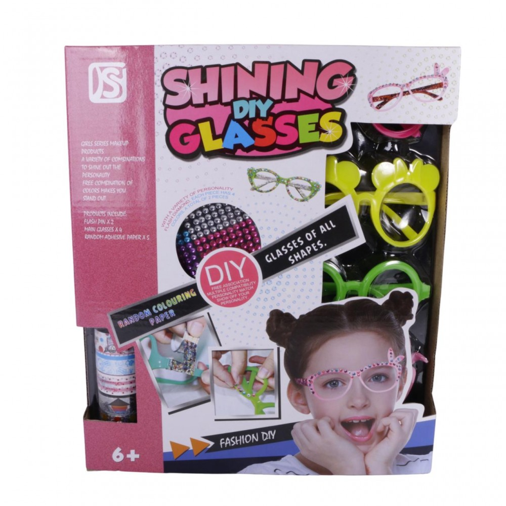 Spectacles decorating game for children
