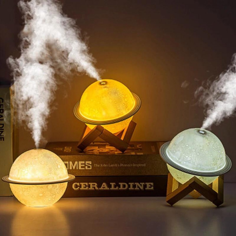 Scent burner with electric lights