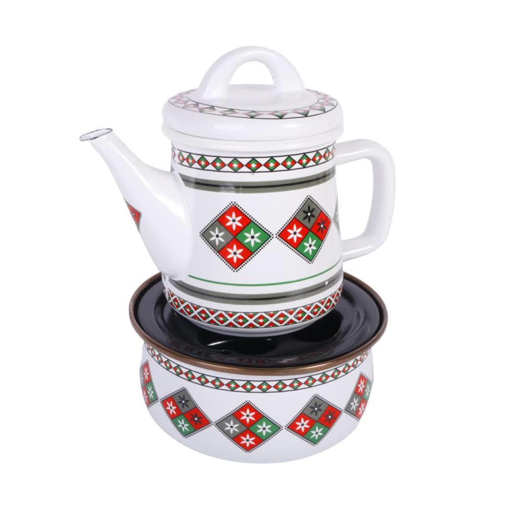Tea pot with stand