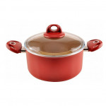 Cooking pot with a lid size 22 cm