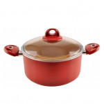 Cooking pot with a lid size 24 cm