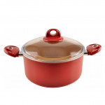 Cooking pot with a lid size 26 cm