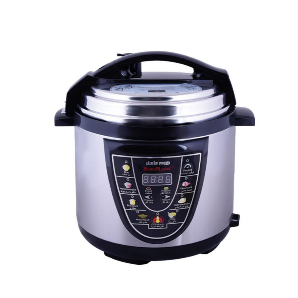 Electric pressure cooker 4 liter 800 watts from Home Master