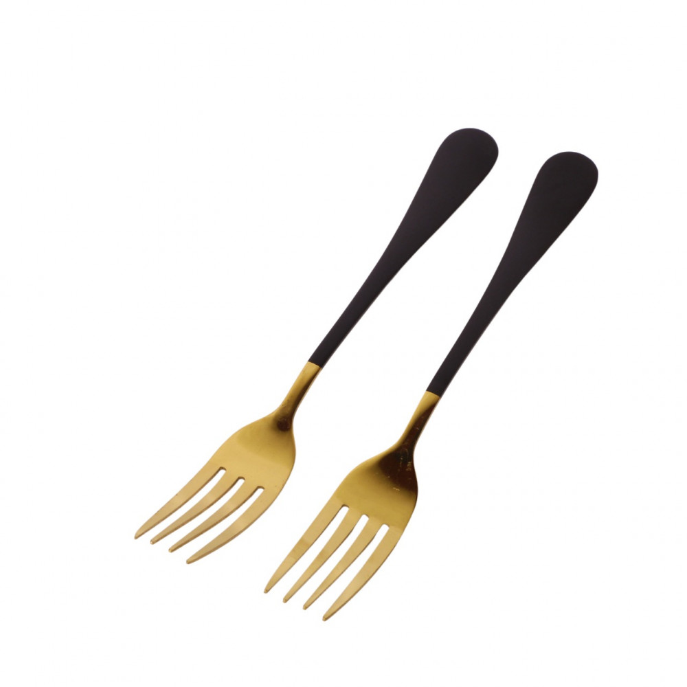 Forks eat 2 pieces
