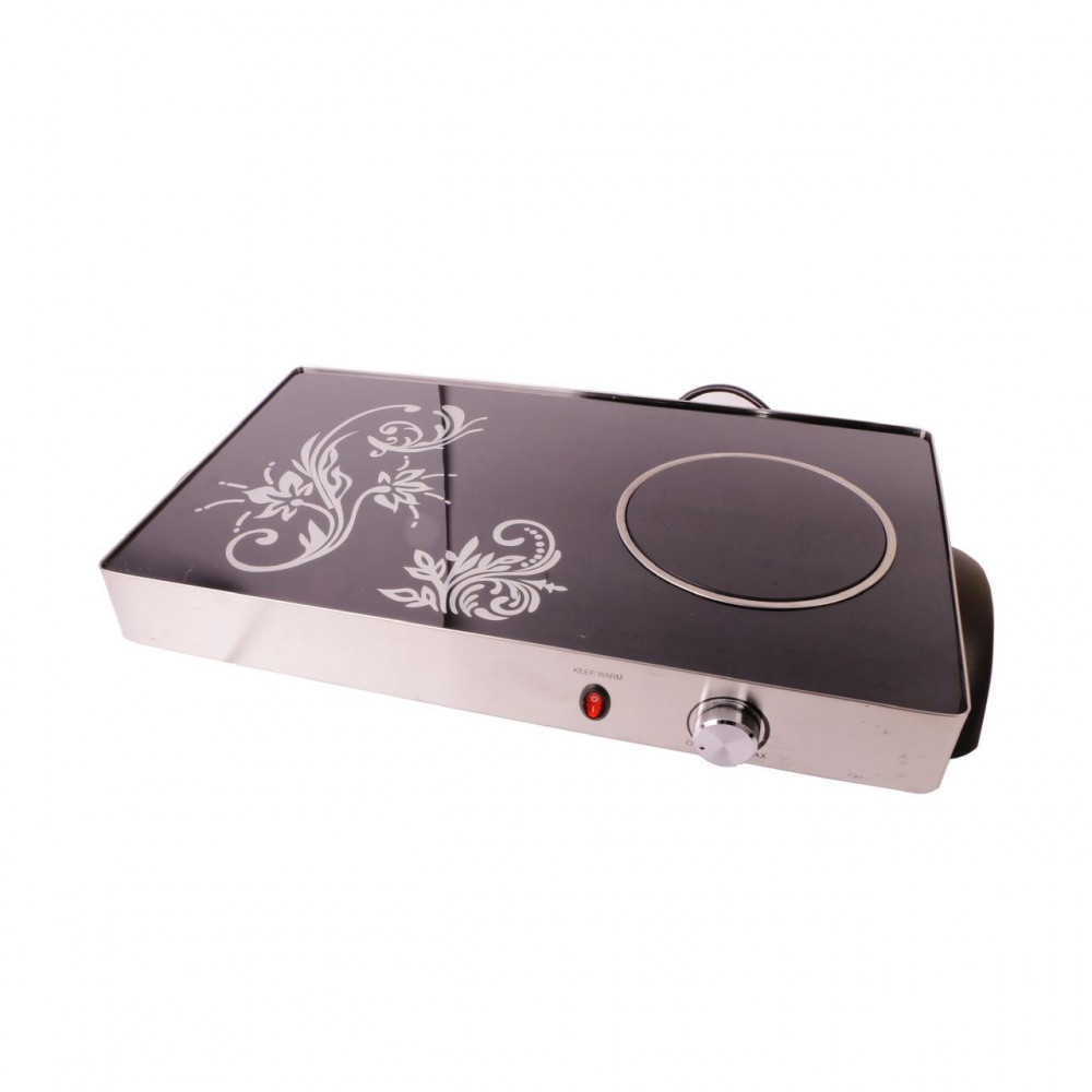 Electric tray for cooking and heating