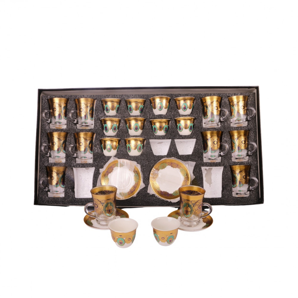 Cups set with cups 36 pieces