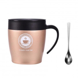Cup with spoon