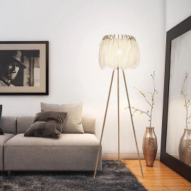 Feather lamp height 145 cm