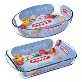 Pyrex set of 2-piece oven trays