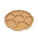 Wooden serving dish