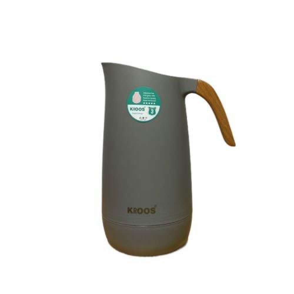 Wooden Hand Thermos Cross 1 liter