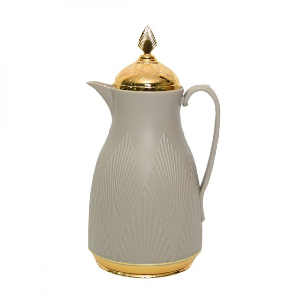 Misa thermos gray 1 liter with golden cover