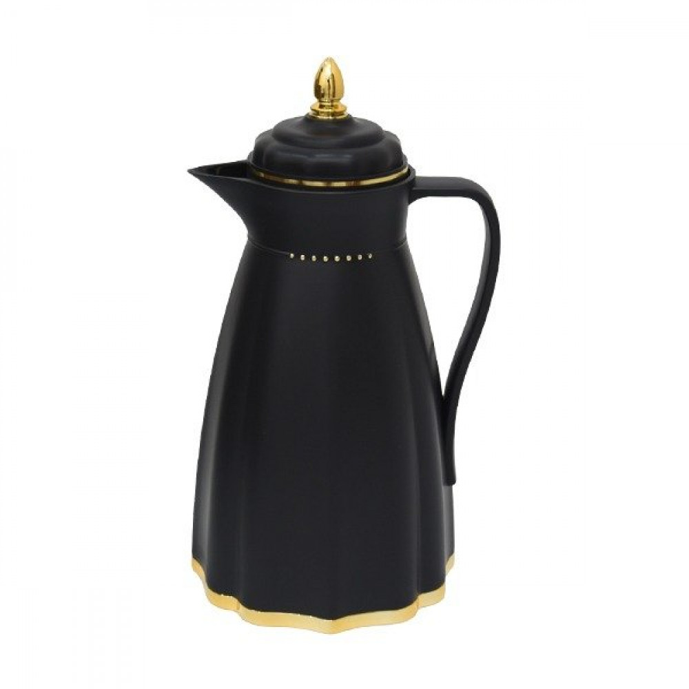 Maple thermos, black color, 1 liter