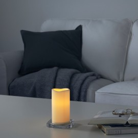 Battery-powered LED candle
